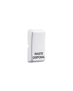 BG Nexus White Grid Rockers - Printed - Waste Disposal.