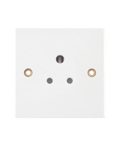 SELECTRIC SQUARE, 5Amp Round 3 Pin Socket.