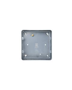 BG Nexus White Grid - Double metal box (6 gang and 8 gang grid).