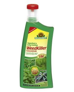 Neudorff Superfast and Long Lasting Weedkiller - 1L Concentrate
