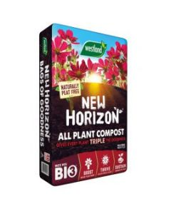 New Horizon Peat Free All-Purpose Compost 60L