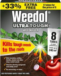 Weedol® Ultra Tough™ Weedkiller - 8 Tubes