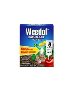 Weedol® Pathclear™ Weedkiller - 6Tubes + 2Tubes (FOC)