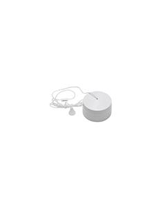 BG Nexus White Round Edge Ceiling Switch - 6A 2 way.