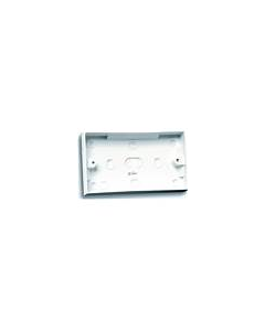 SELECTRIC SQUARE, 2 Gang 47mm dual pattress box.