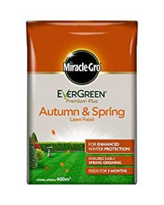 Evergreen Premium Autumn & Spring Lawn Food - 400sqm