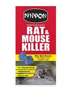 Nippon Rodenticide Blocks - 15 pack