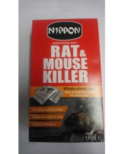 Nippon Rat & Mouse Killer 150g